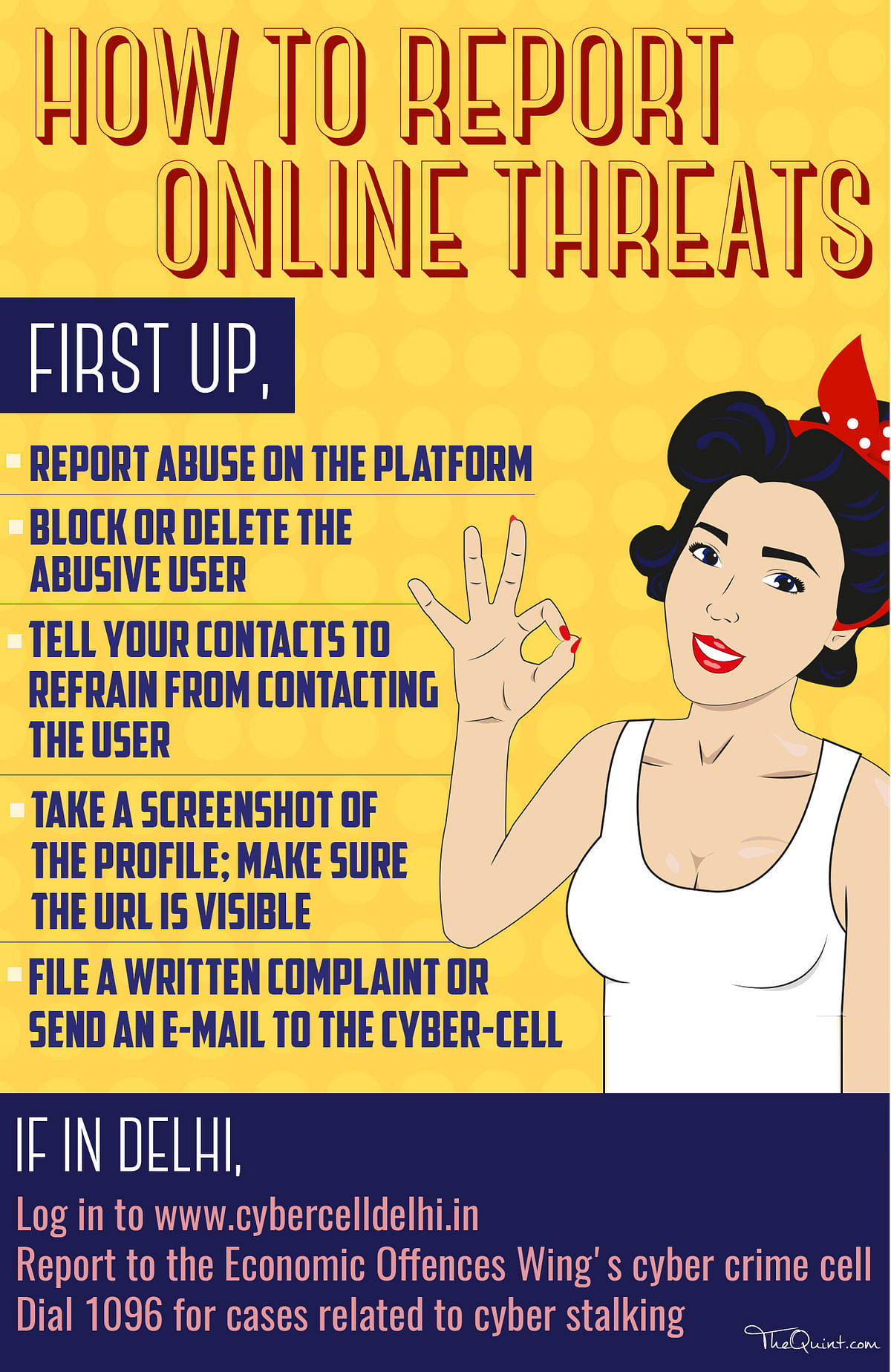 Intimidated?  Abused? Threatened? Here's How You Report  Trolls