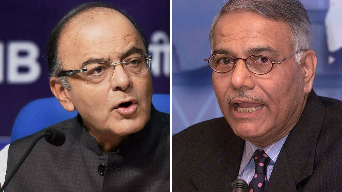 "Yashwant Sinha Writes on the ""Mess Jaitley Made of the Economy"""