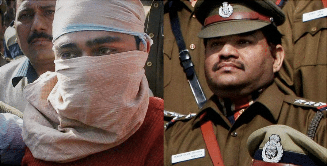 Shahzad Ahmad was charged and later, convicted of of killing M C Sharma during the encounter.