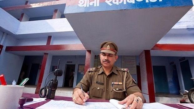 A Policeman Filing an FIR
