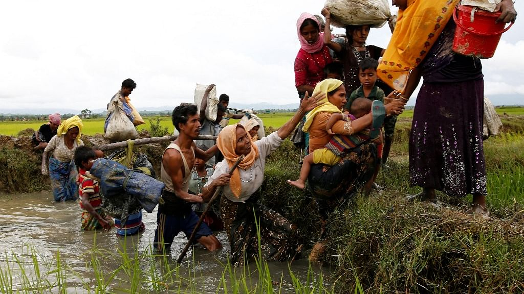 Thousands of homes have been torched since the military launched a counteroffensive against Rohingya insurgents.