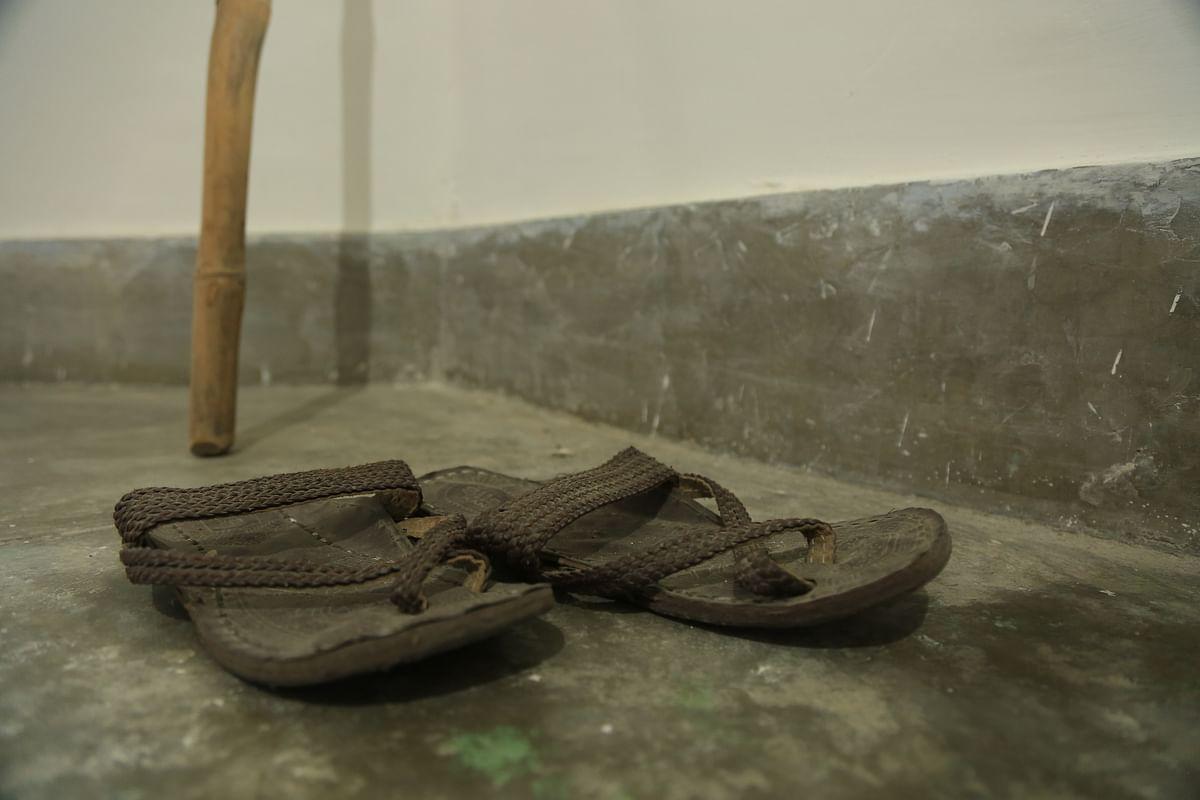 Bapu's slippers
