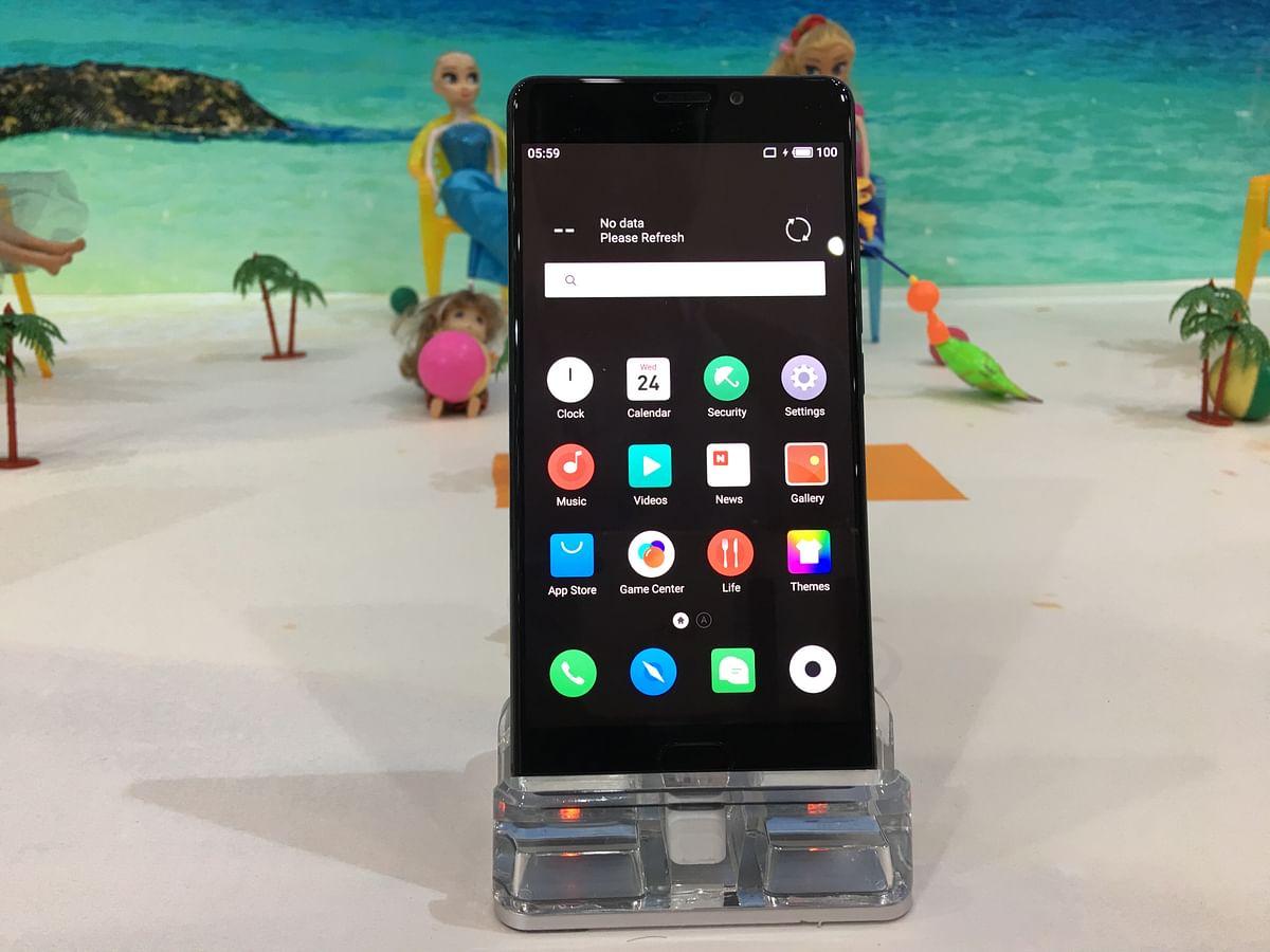 The Meizu Pro 7 Plus is a deca-core phone