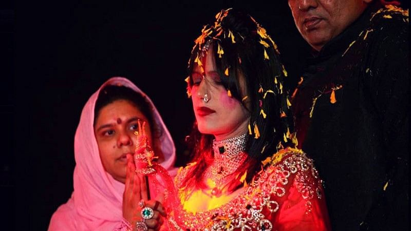 Sukhvinder Kaur aka Raadhe Maa.
