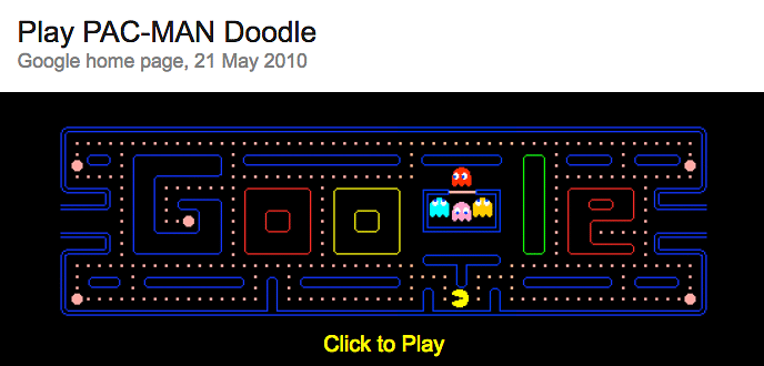 Google Celebrates Its 19th Birthday With Fun Doodle Games