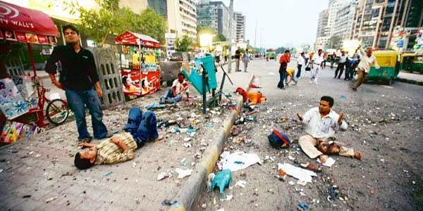 On 13 September 2008, Delhi was struck by serial blasts planned by the Indian Mujahideen (IM).