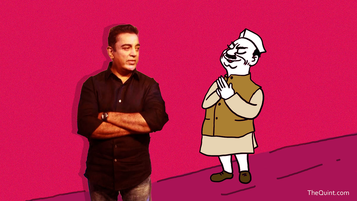 Kamal Haasan is trying to play it safe on his foray in politics is concerned, will these calculated moves help?