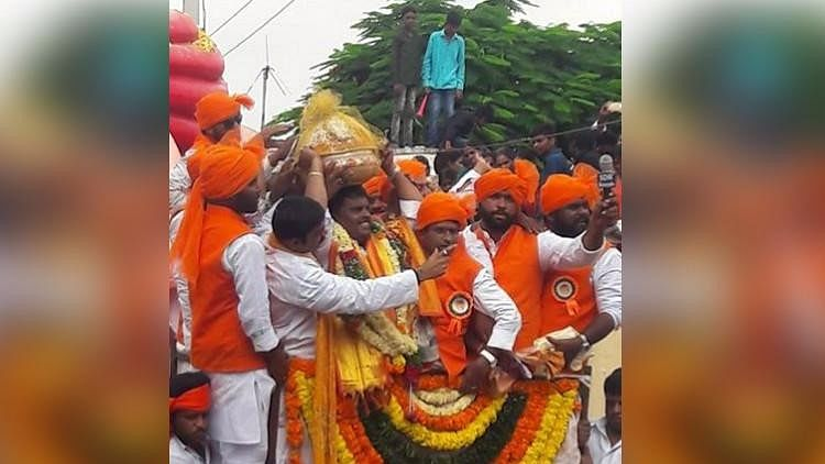 The festive fervour in Hyderabad has reached fever pitch on the occasion of Ganesh Chaturthi.