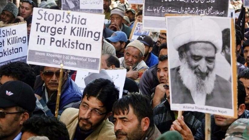Five members of the minority Shia Hazara community, including two women, were killed today in an attack by unidentified gunmen in Pakistan's restive Balochistan province.