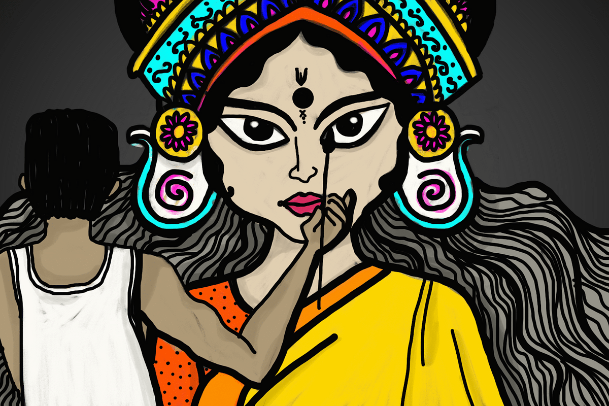 Lights, camera, festivity! Durga Pujo is here and the celebrations are underway.