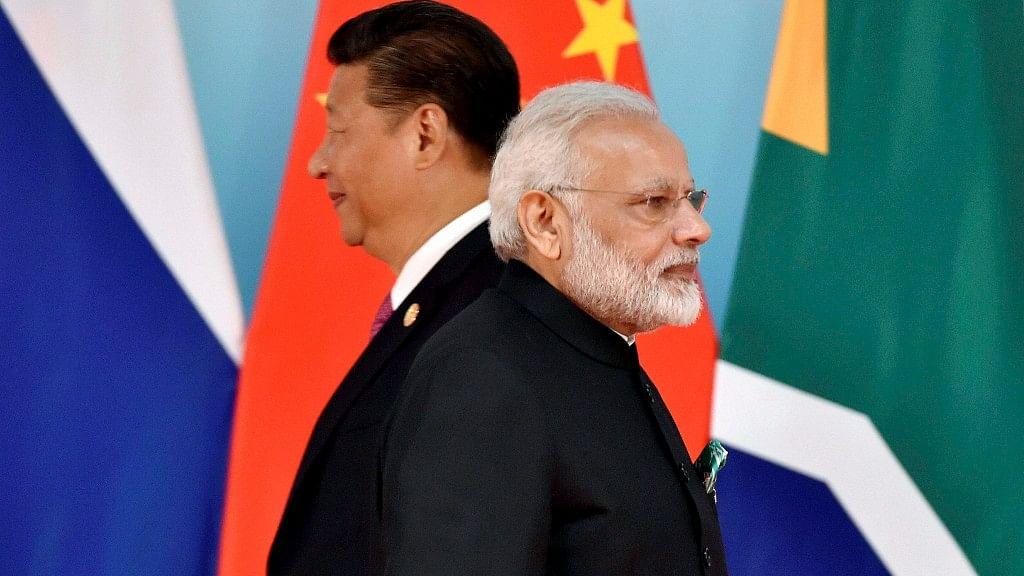 File photo of PM Narendra Modi and Chinese President Xi Jinping.
