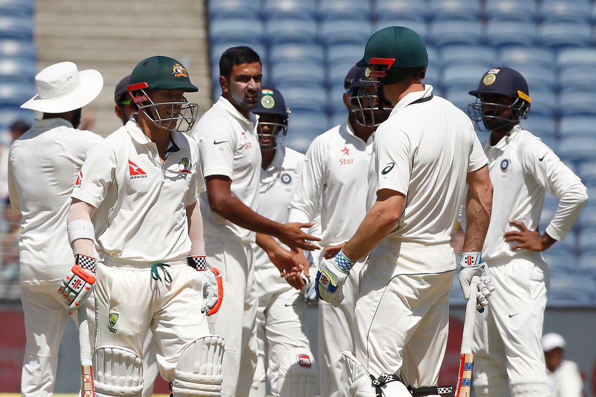 India beat Australia 2-1 in the Test series earlier this year.