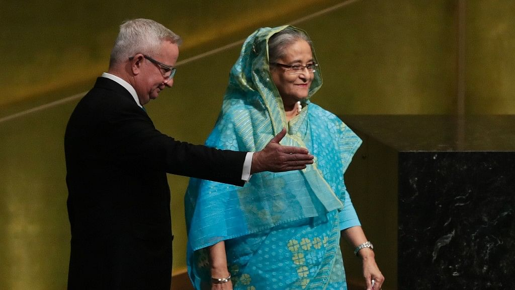 'Create Safe Zones in Myanmar for Rohingyas': Bangladesh PM at UN
