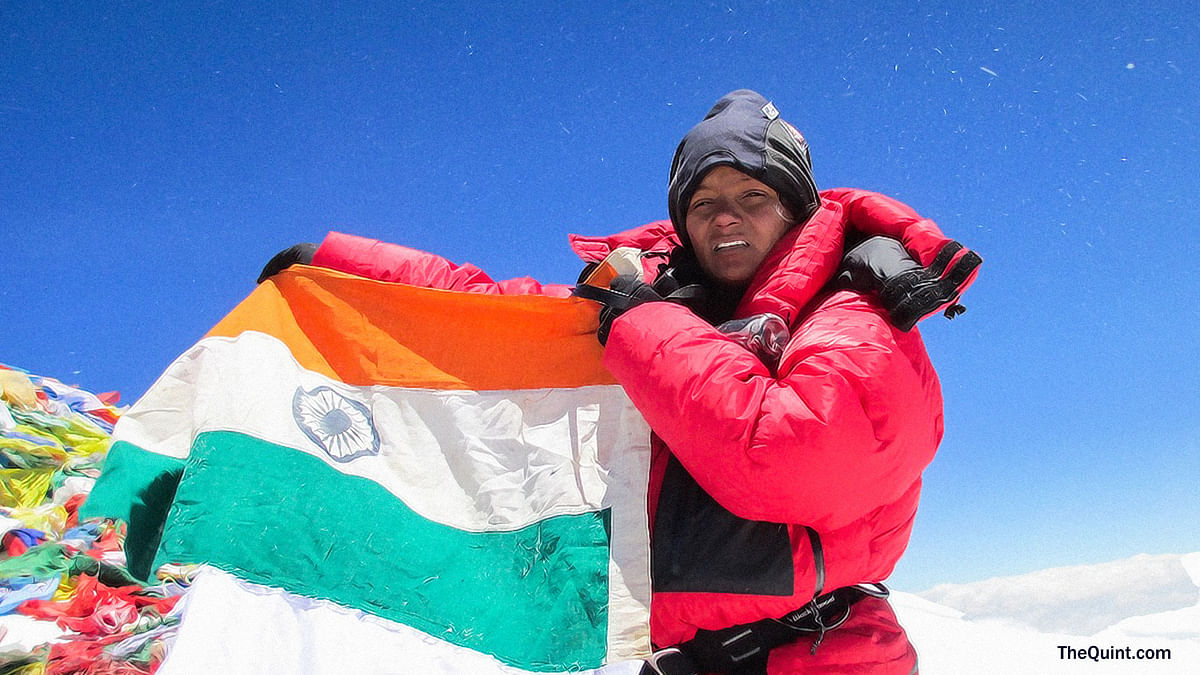 A single-amputee, Arunima Sinha has battled great odds to conquer her personal Everest