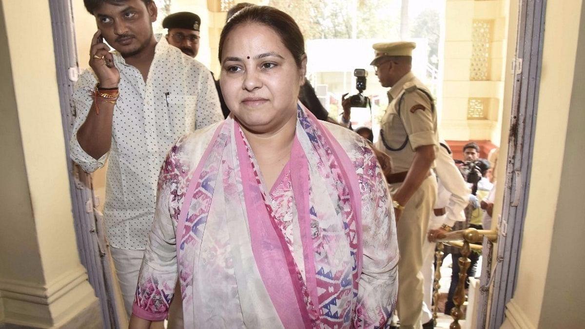 RJD chief Lalu Prasad Yadav's daughter Misa Bharti.