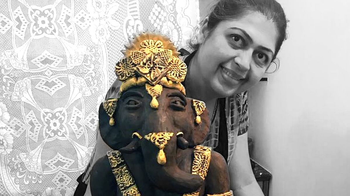 Celebrating Ganesha, the eco-friendly way.