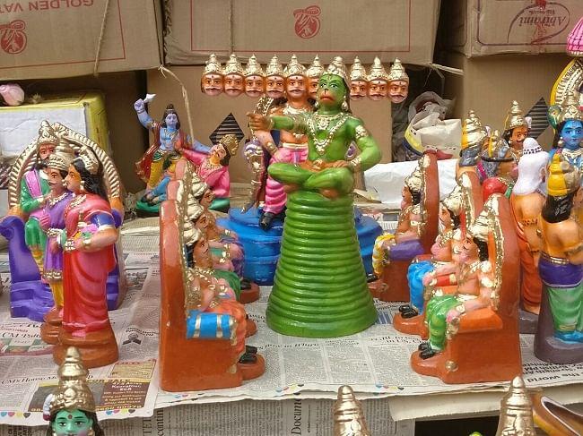 'Amma' Most Popular Doll in Tamil Nadu's Golu Festival This Year