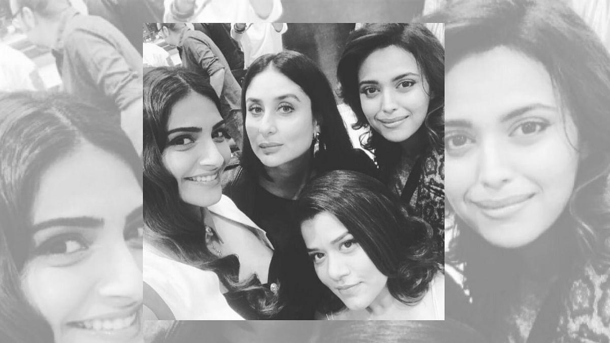 Sonam, Kareena, Swara, and Shikha giving us bff goals.