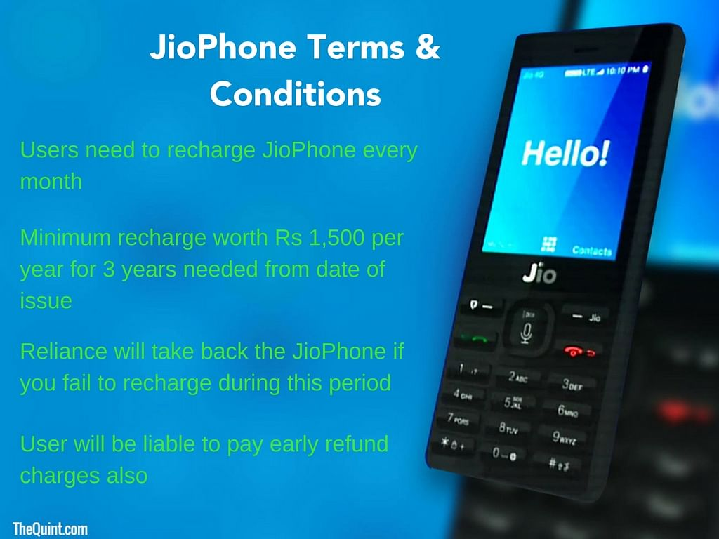 You Gotta Check Out The Terms & Conditions of Reliance JioPhone