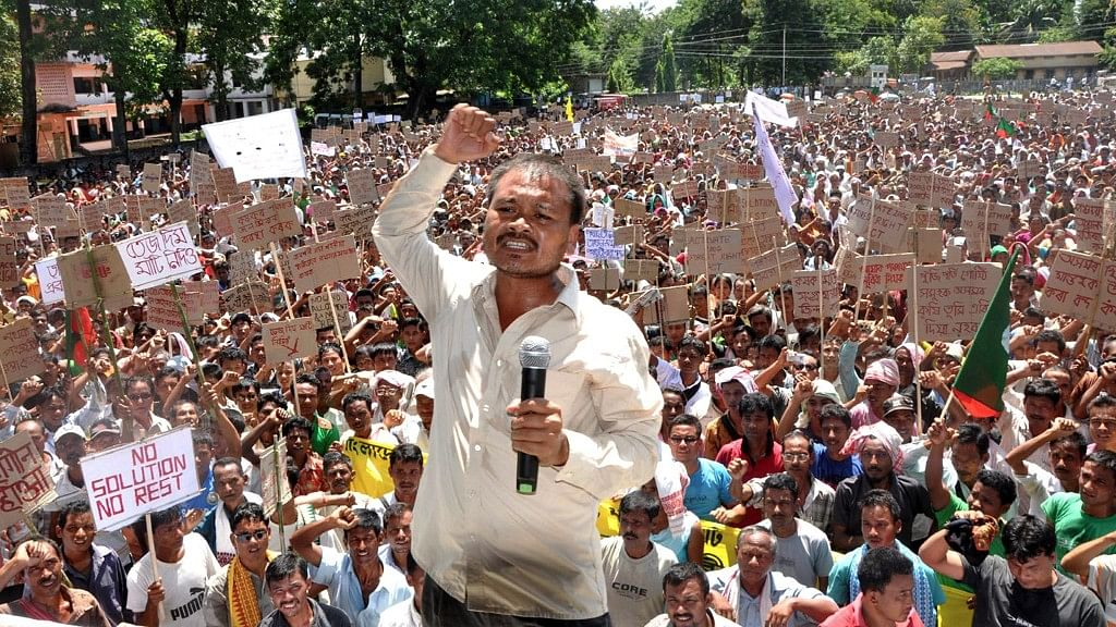 Activist for Many Causes: Akhil Gogoi Now Arrested for Sedition