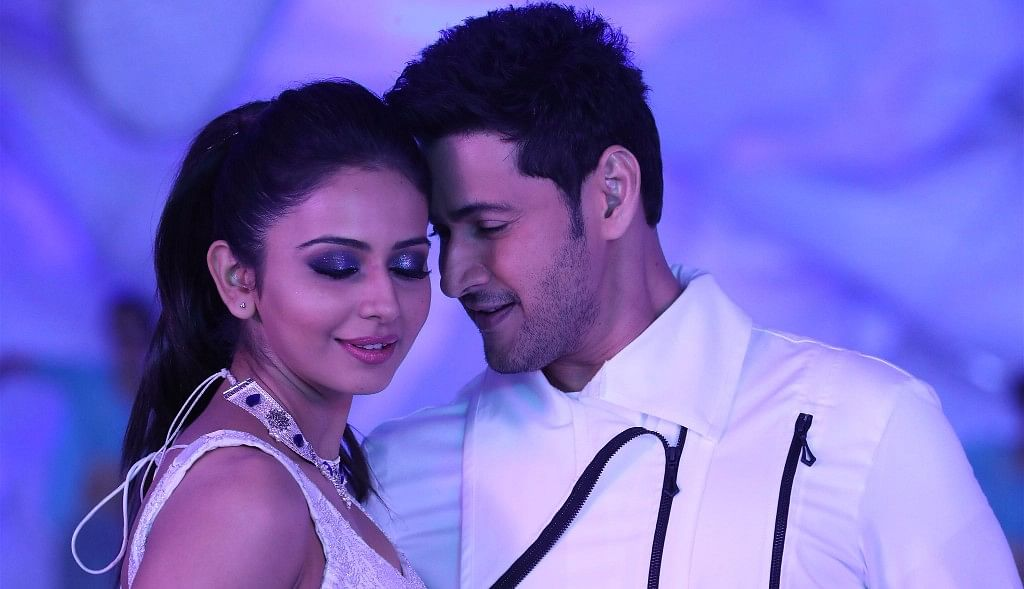 Mahesh Babu and Rakulpreet in <i>Spyder.</i>