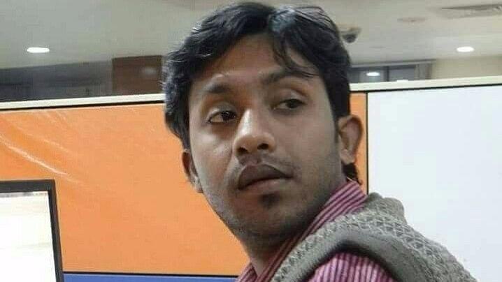TV journalist Santanu Bhaumik.