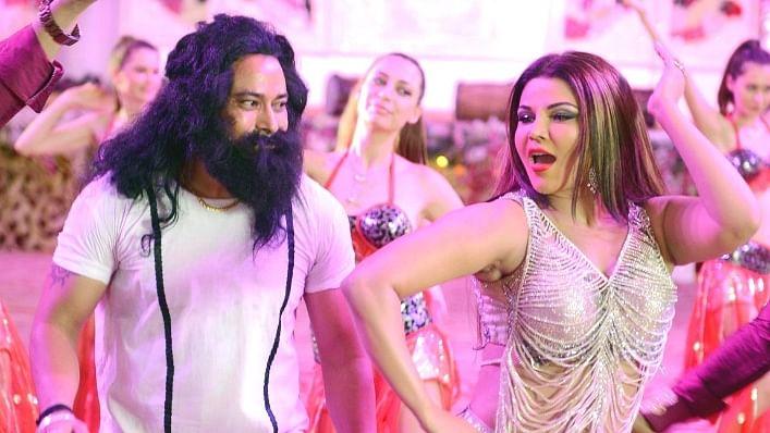"Rakhi Sawant spills the beans on Gurmeet Ram Rahim and his ""daughter"" Honeypreet."