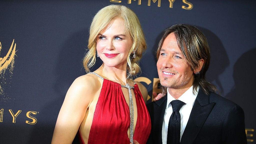 69th Primetime Emmy Awards: Nicole Kidman with Keith Urban.