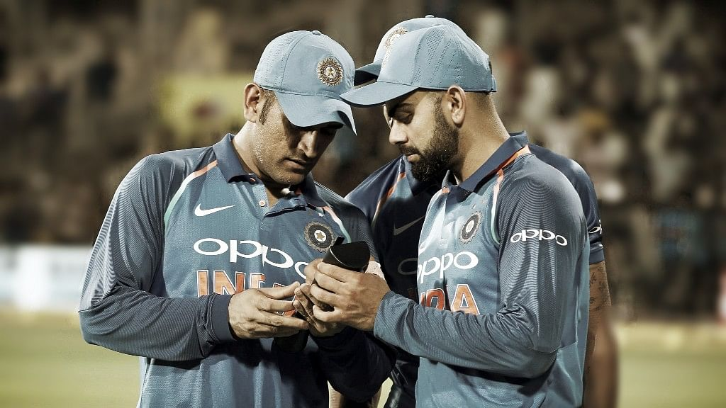 MS Dhoni's bat size and Virat Kohli's aggression will both need some reigning in, w.e.f. 28 September.