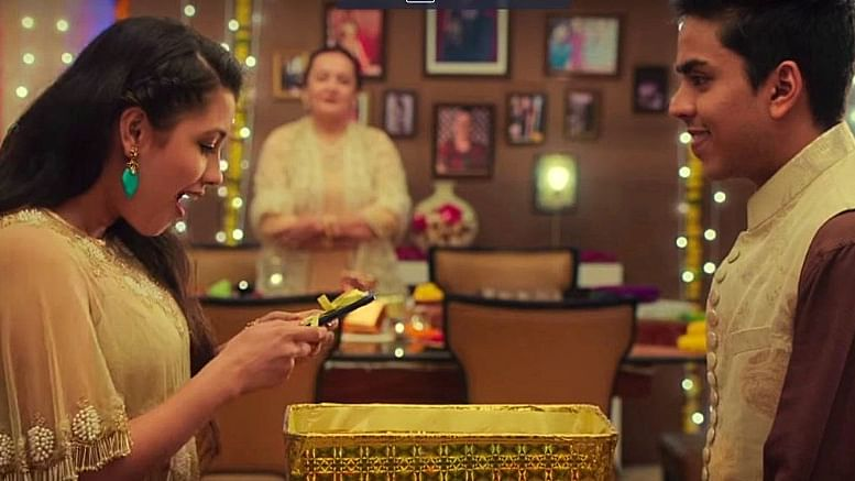 Smartphones have taken festival celebrations in India to a new level altogether (Photo: YouTube / Panasonic Smartphones)