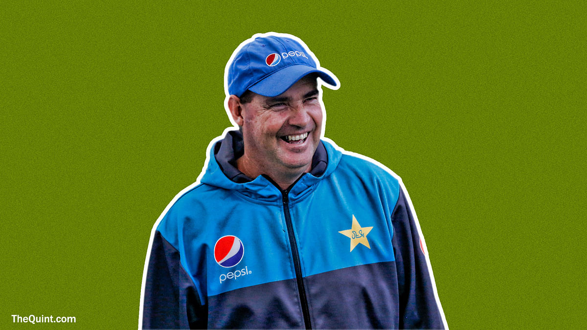 Mickey Arthur is a demonstrative man, and a passionate coach.
