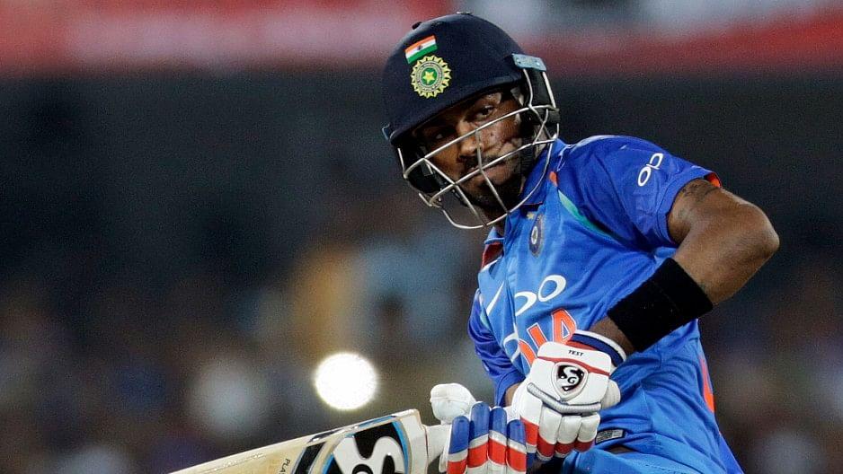 Hardik Pandya scored over 400 runs in IPL 2019.
