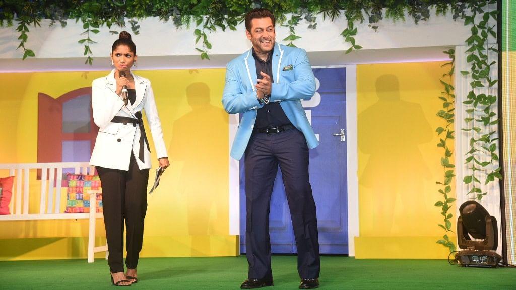 Salman Khan in <i>Bigg Boss 11</i>.&nbsp;