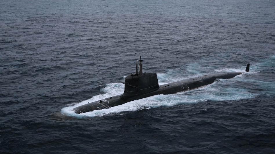 Indian Navy Gets its First Scorpene-Class Submarine 'Kalvari'