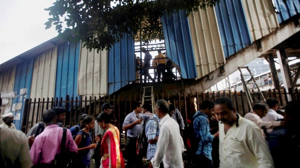 The foot-over-bridge, where the stampede occurred, connects the Elphinstone station to Parel from where commuters shift to Central Line.