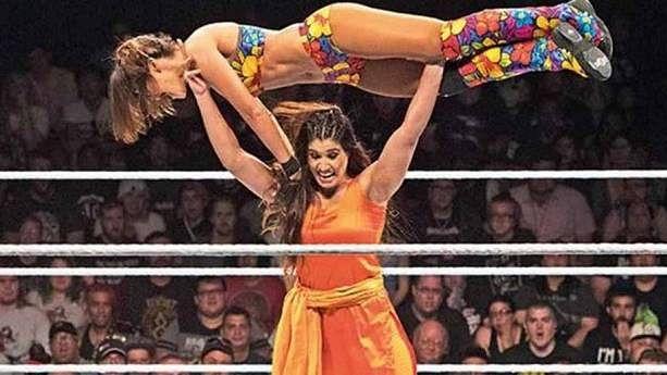 Kavita Devi is a MMA powerhouse and a Khali fan.