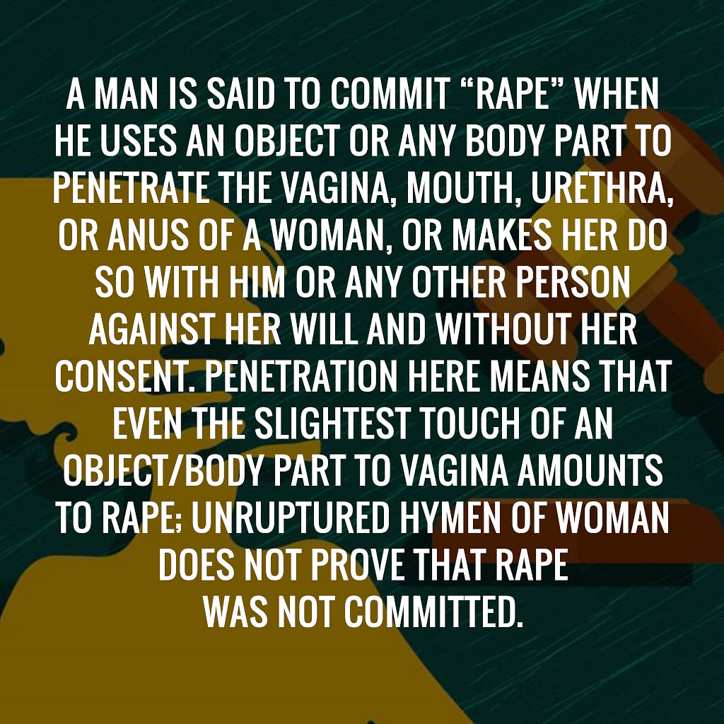 Rape Laws Updated, Judicial System Needs to Keep Up With The Times