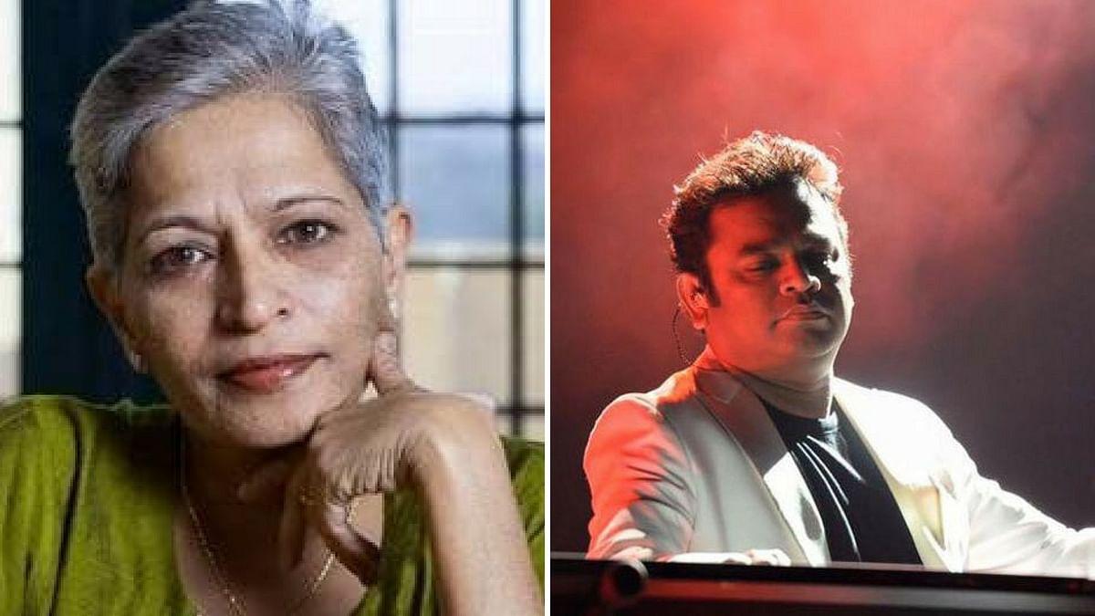 AR Rahman on Gauri Lankesh murder case.