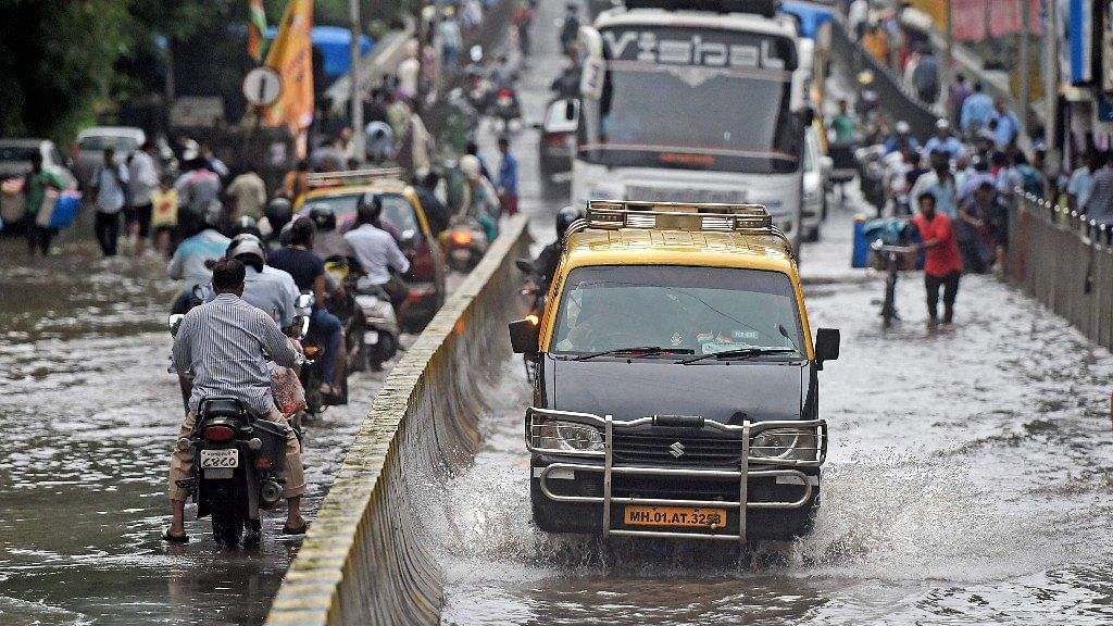 File photo of rain in Mumbai.