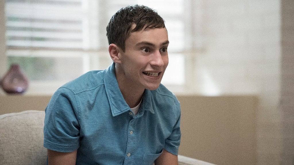 Keir Gilchrist as Sam in <i>Atypical.</i>