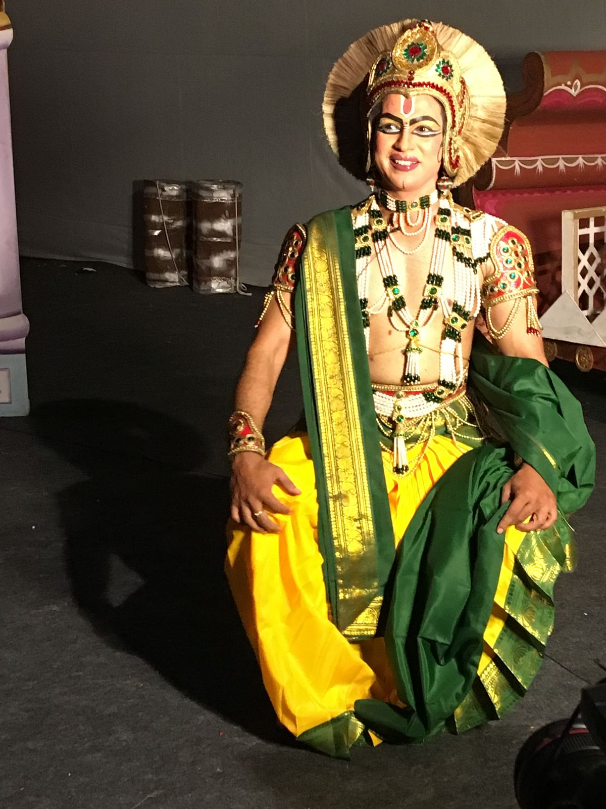 Rajkumar Sharma has been playing 'Ram' in the eponymous production for more than a decade now.