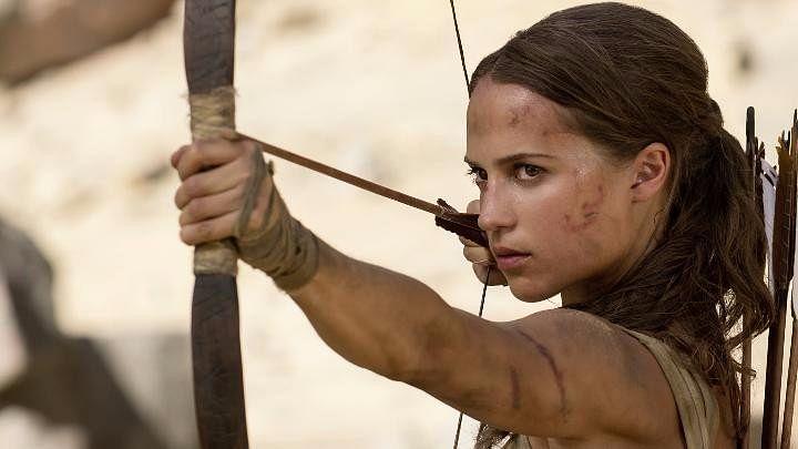 A still from <i>Tomb Raider. </i>