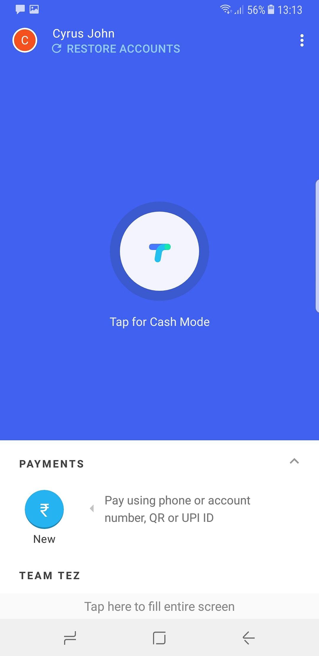 Google's Tez offers