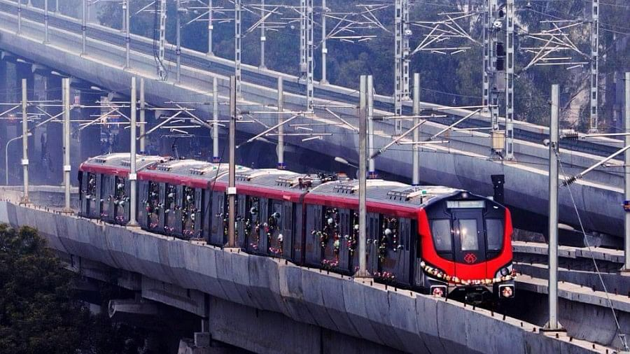 The 'City of Nawabs' has finally launched its first metro rail system.
