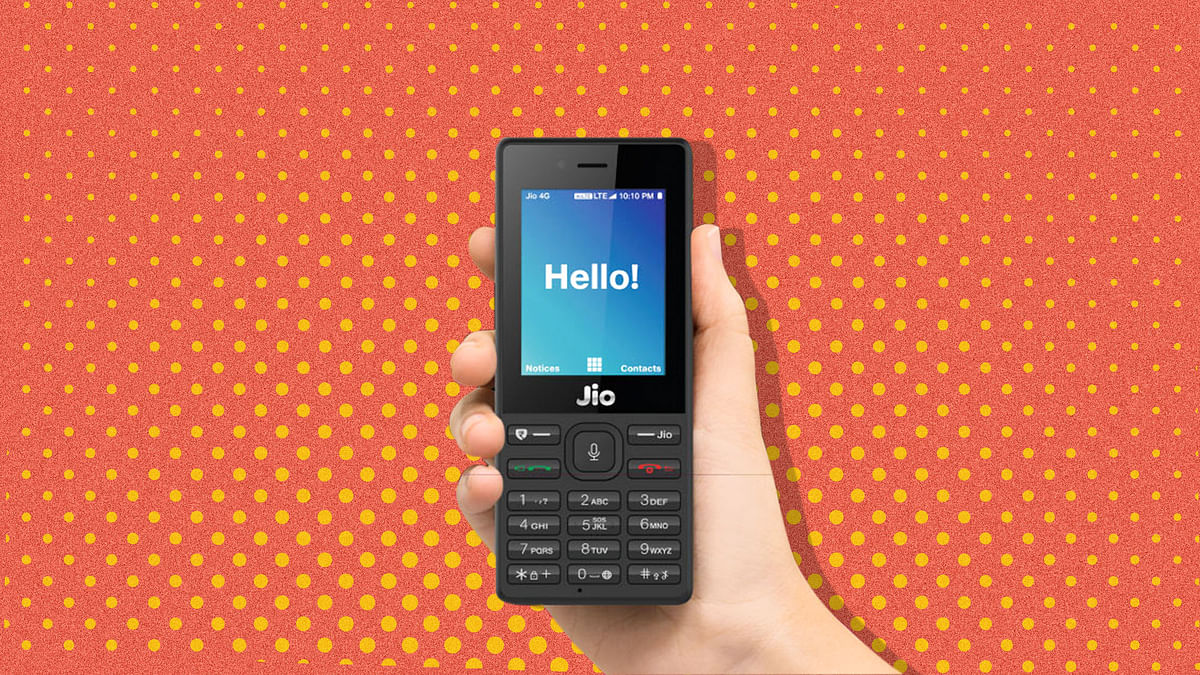 JioPhone 4G VoLTE is selling for less than price of a 2G feature phone.