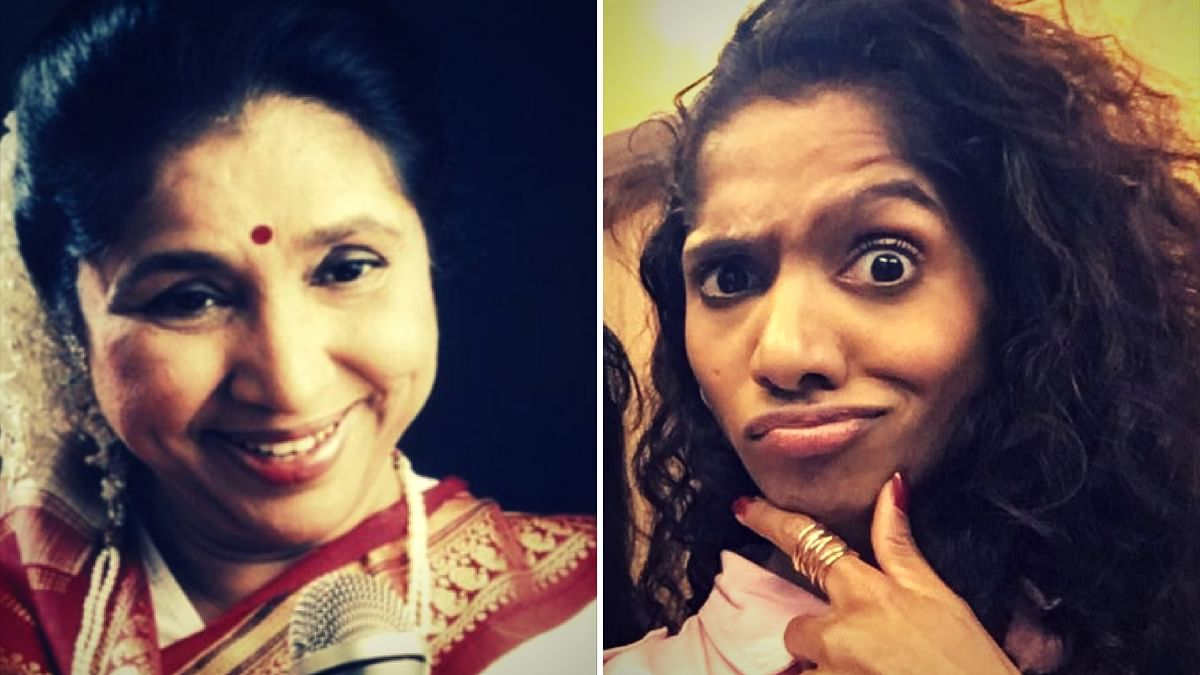 When Jamie becomes Asha Bhosle.