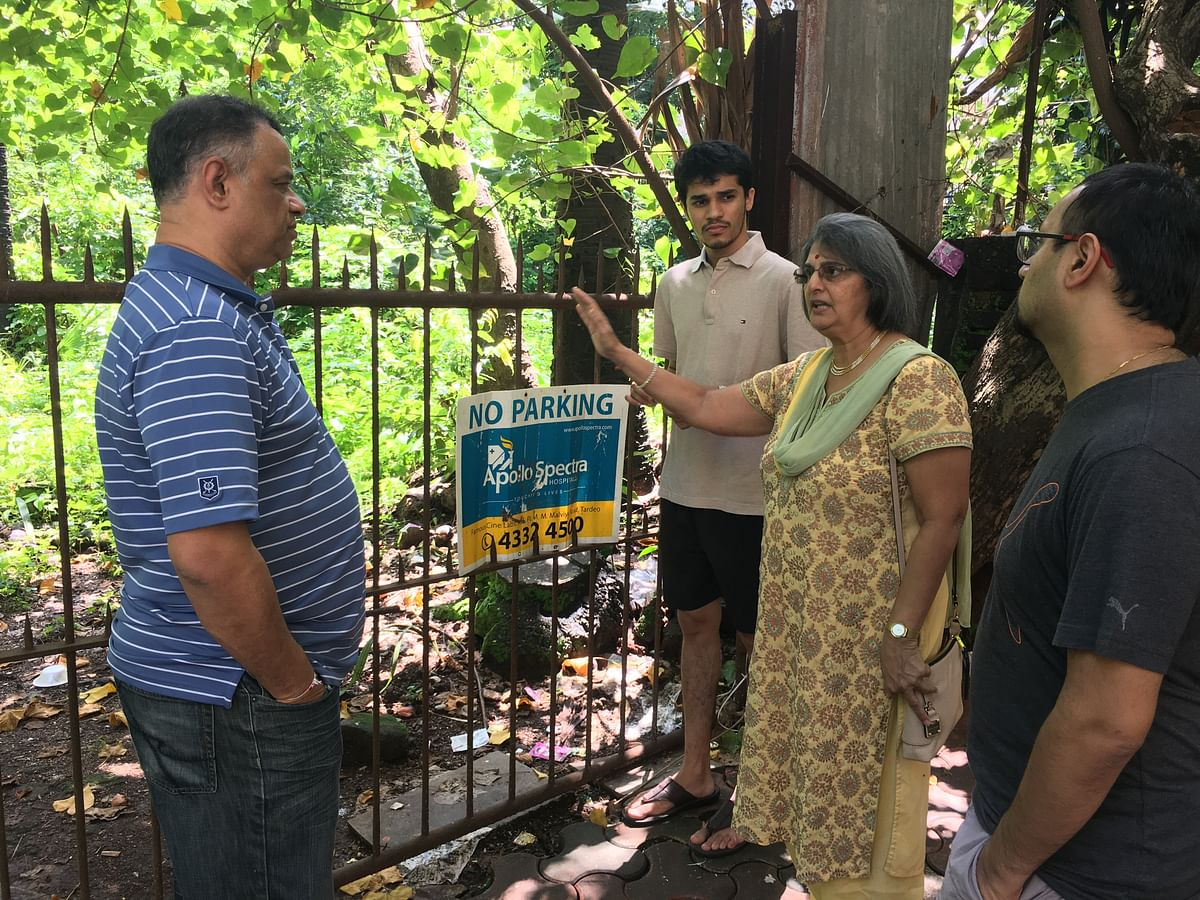 Gita Shah and a few other residents of Gulistan were also actively involved in the fight to get the park reserved again.