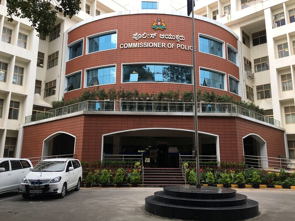 Commissioner's Office, Bengaluru City Police.<b></b>