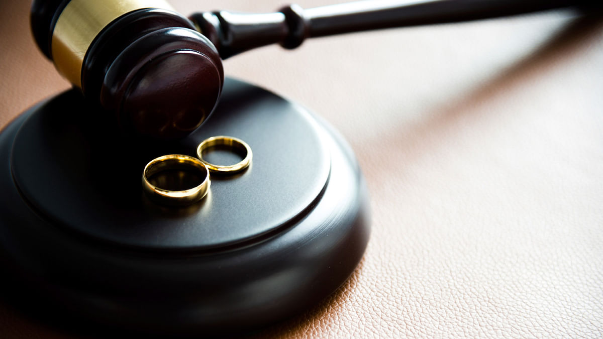 It said all property acquired after marriage of either spouse be treated as a unit between the couple.