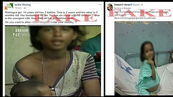 Increasing number of people are relying on fake images to incite hatred against Rohingyas.